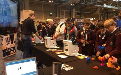 BCA 3D printing at The Big Bang Fair 2015