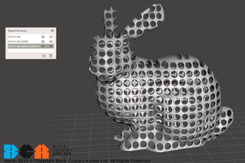 Bunny Tiled Tubes