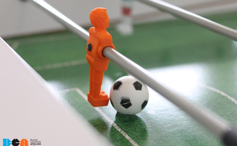 Maker Project: 3D printed footballer