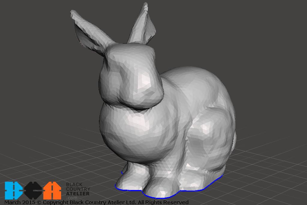 Import Bunny Meshmixer