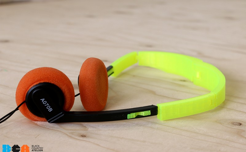 Maker Project of the Week: 3D printed headset