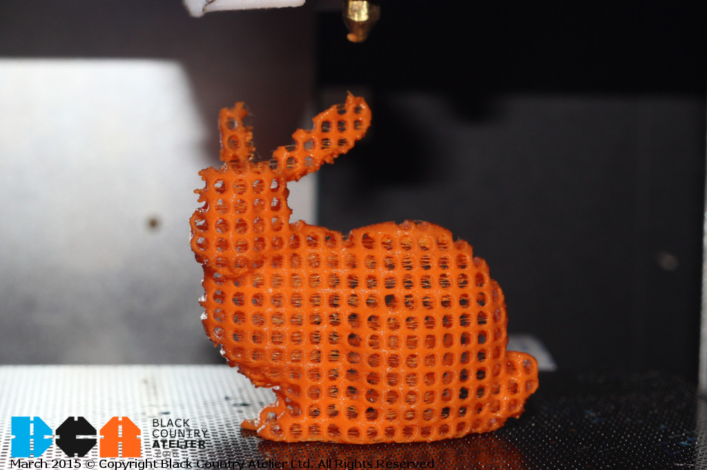 The Easter Bunny Printed BCA