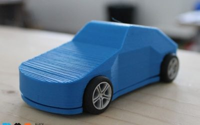 Maker Project of the Week: 3D Printed Scalextric Car