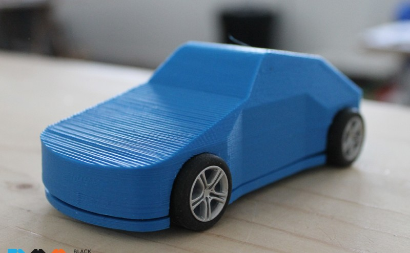 3D Printed Scalextric Car