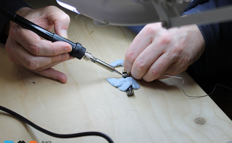 TEACHER TIP OF THE WEEK: GIVE YOURSELF A HELPING HAND WHEN SOLDERING