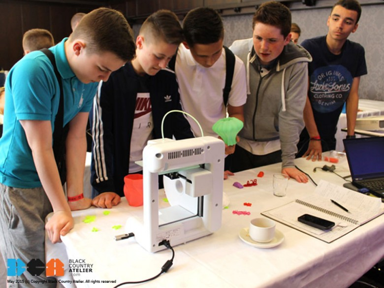 ST MARY'S CATHOLIC SCHOOL LEARN 3D PRINTING IN LONDON