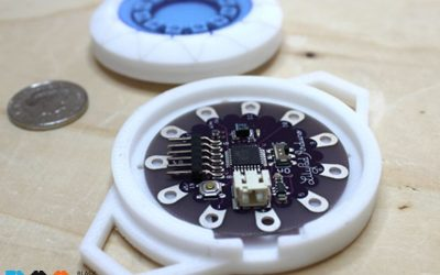 YOUNG MAKER PROJECT OF THE WEEK: WEARABLE TECHNOLOGY (PART 2)